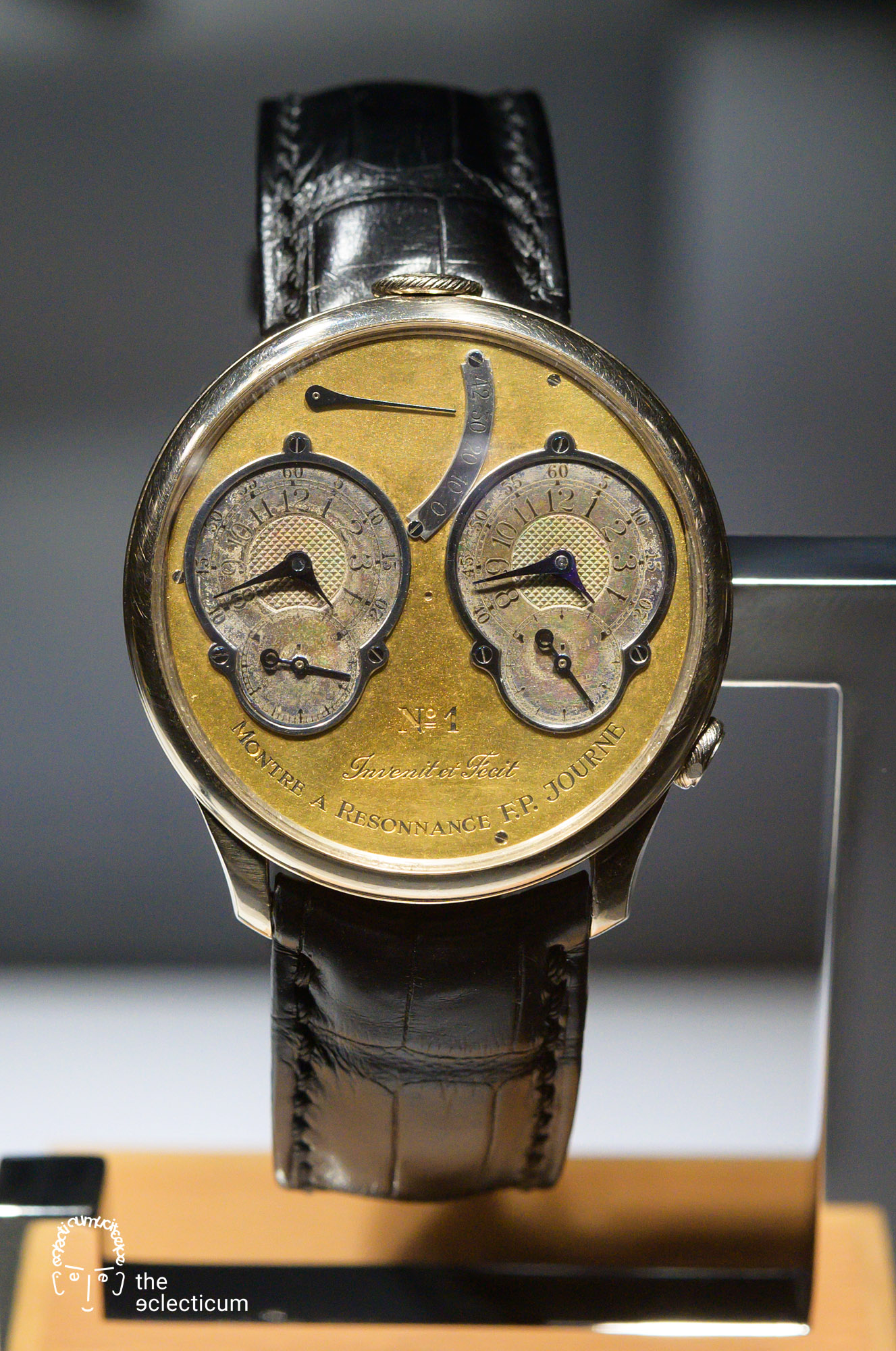 Francois-Paul Journe Prototype N°1 Chronomètre à Résonance