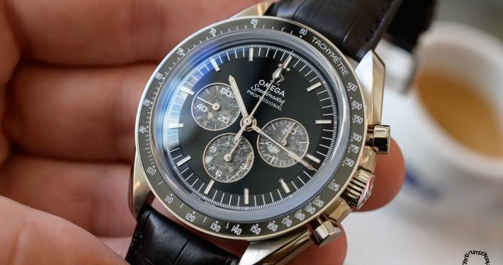 OMEGA Speedmaster Moonwatch 321 Platinum chronograph manufacture handwound