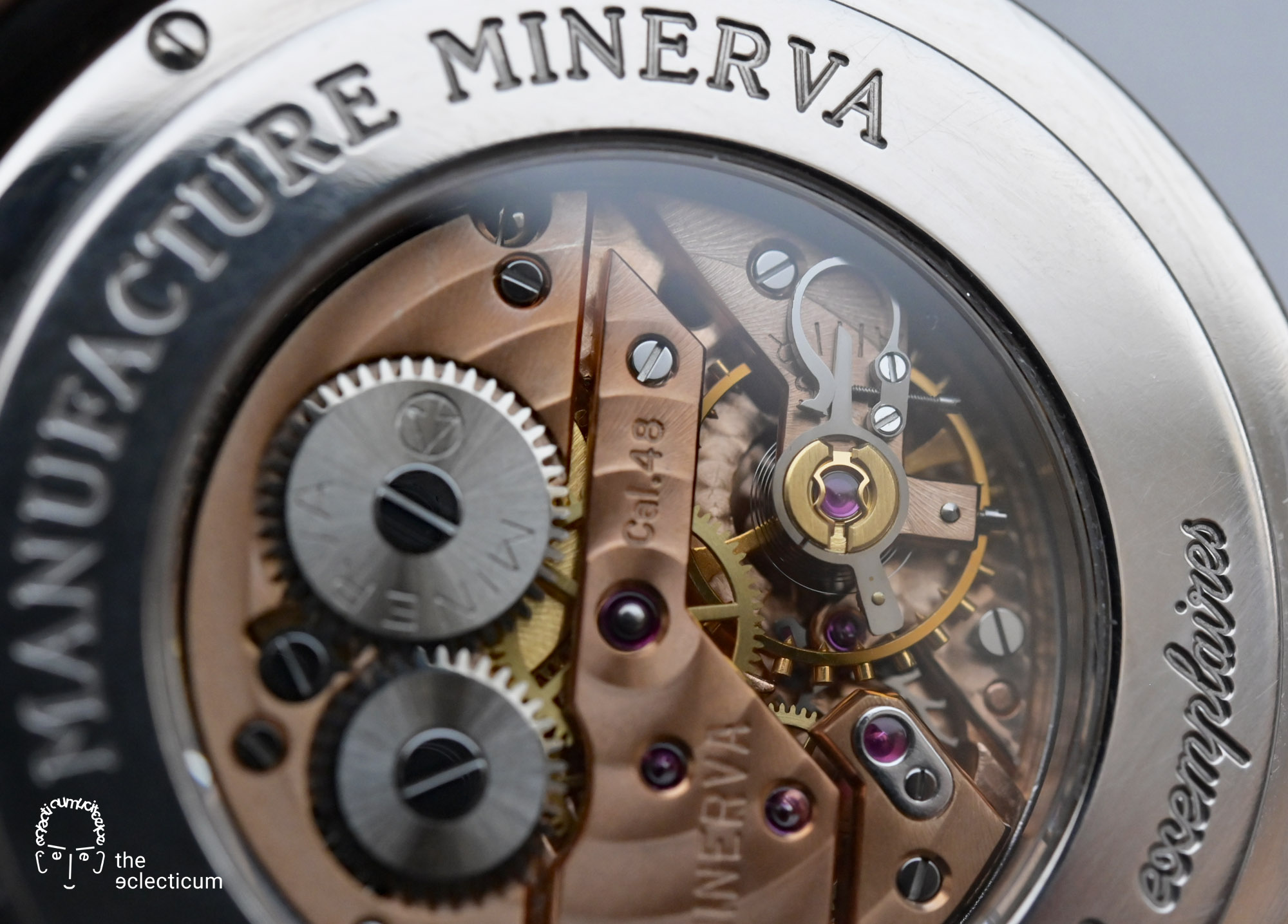 Minerva Pythagore 40mm white gold Cal. 48 manufacture