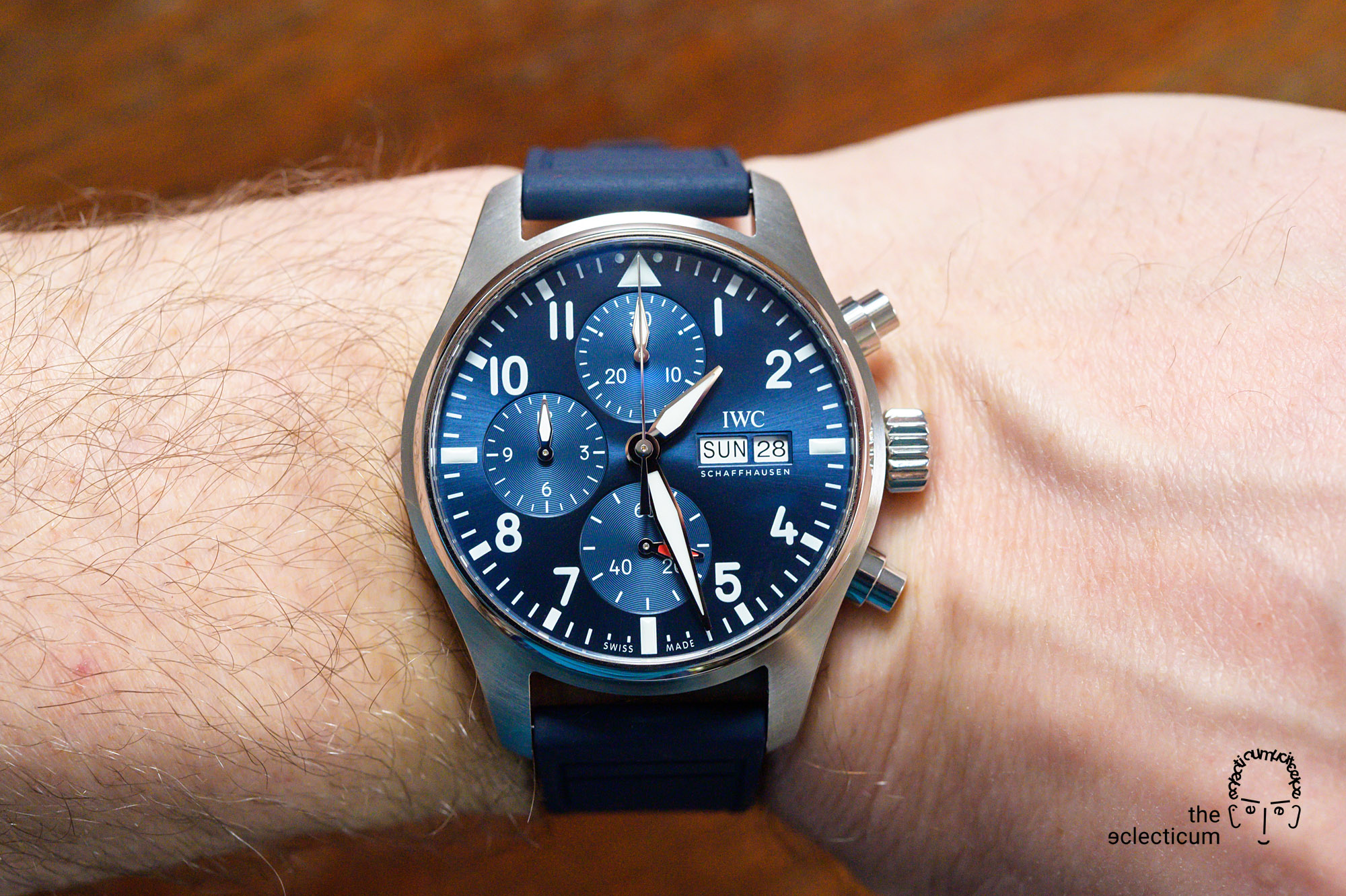 IWC Pilot's Chronograph 41mm automatic 3881 chronograph in-house EasX-CHANGE