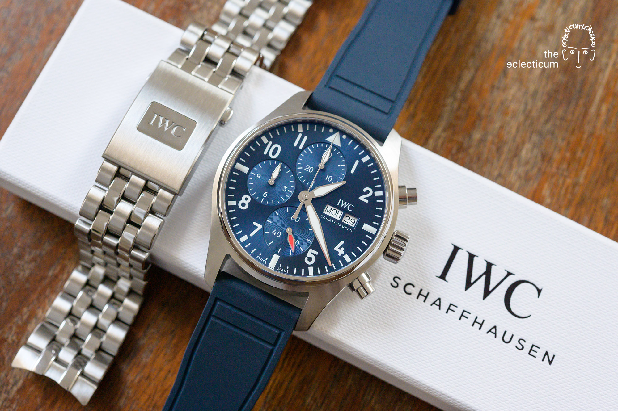 IWC Pilot's Chronograph 41mm automatic 3881 chronograph in-house