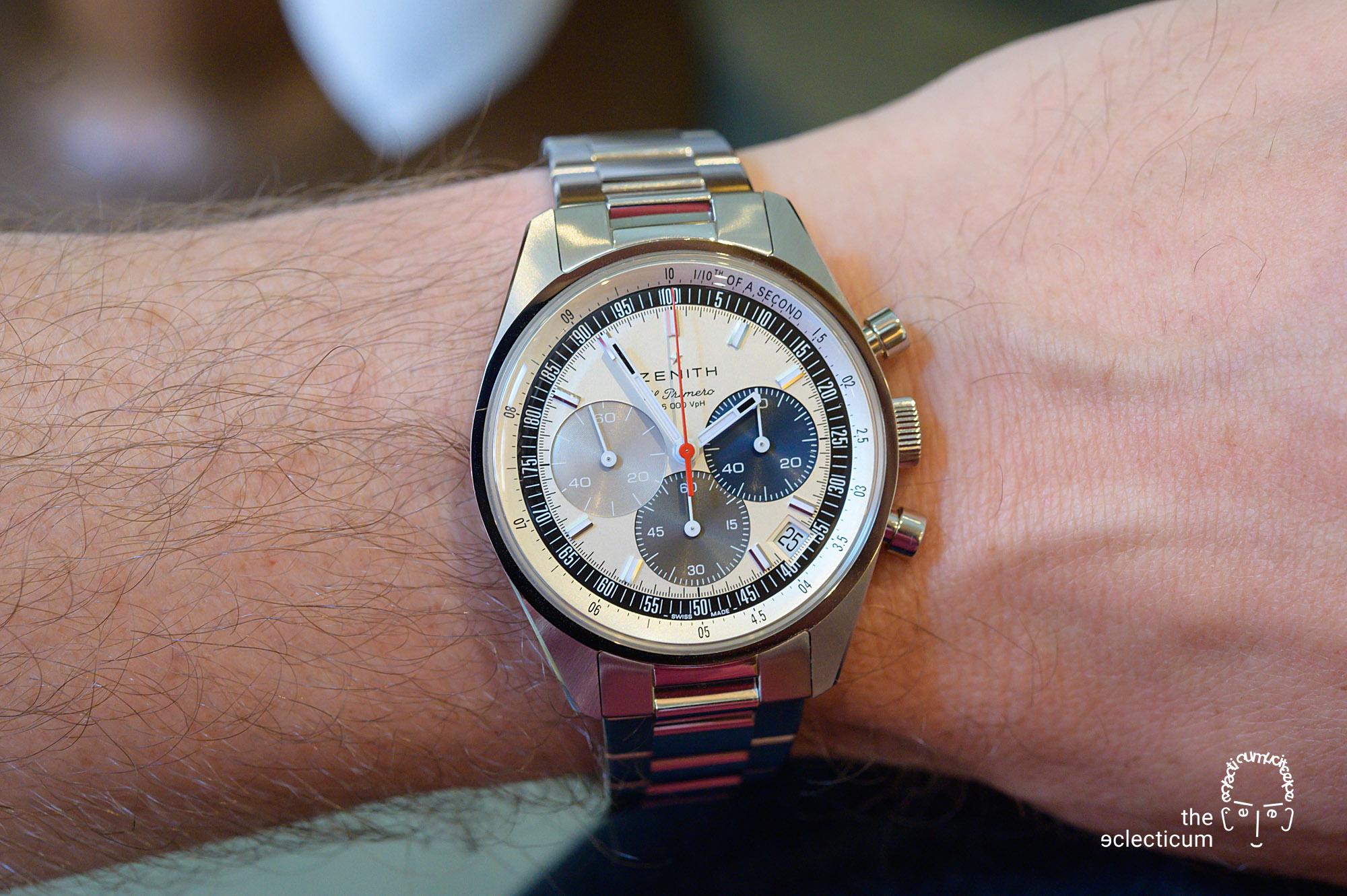 Zenith Chronomaster Original El Primero Cal. 3600 stainless steel bracelet