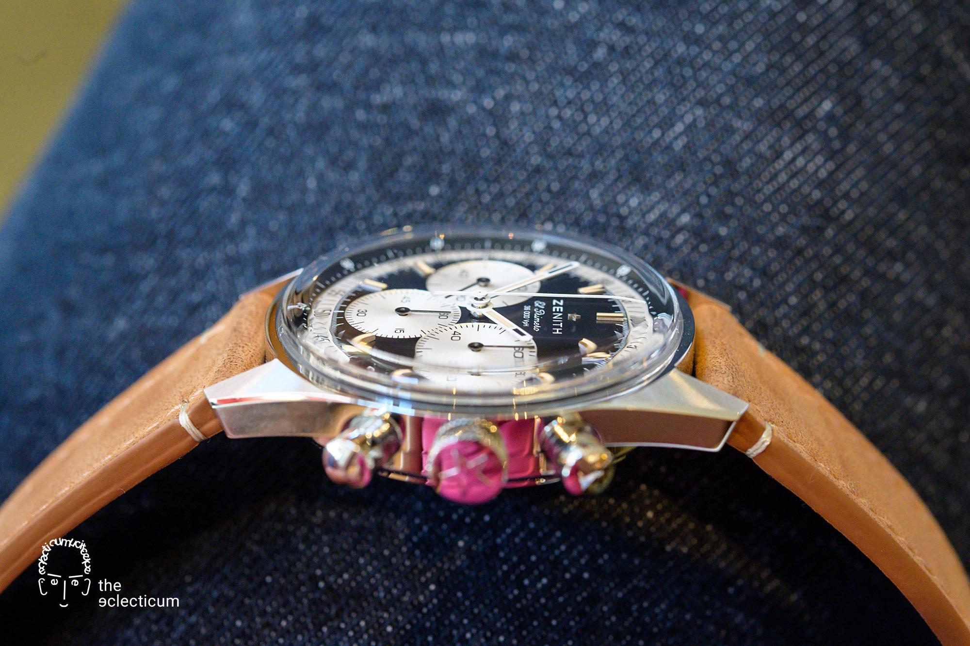 Zenith Chronomaster Original El Primero Cal. 3600 stainless steel inversed panda dial