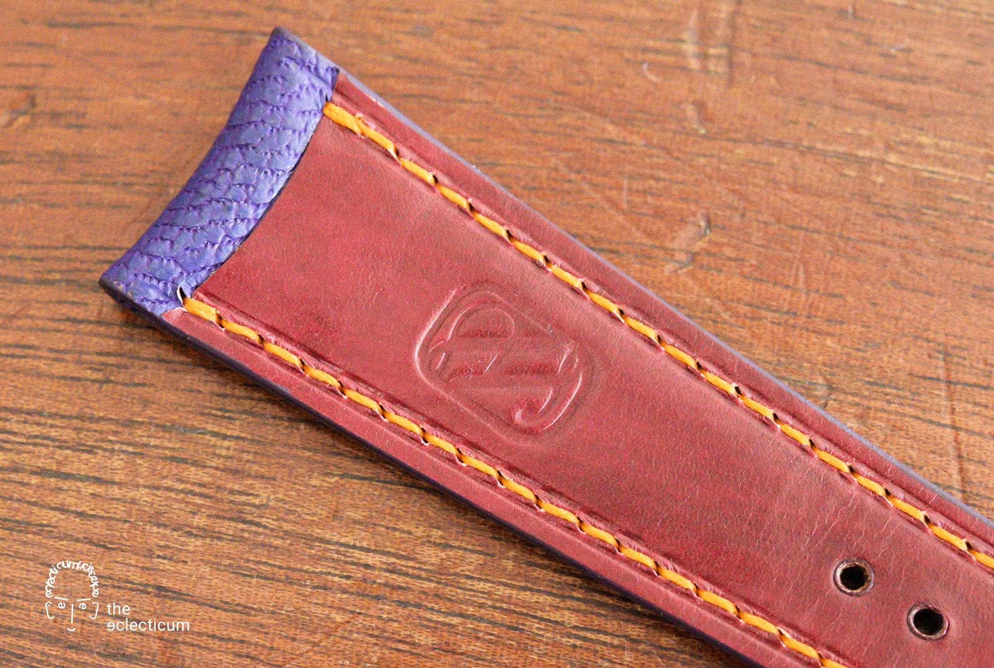 Heima bepsoke strap japanese goat leather