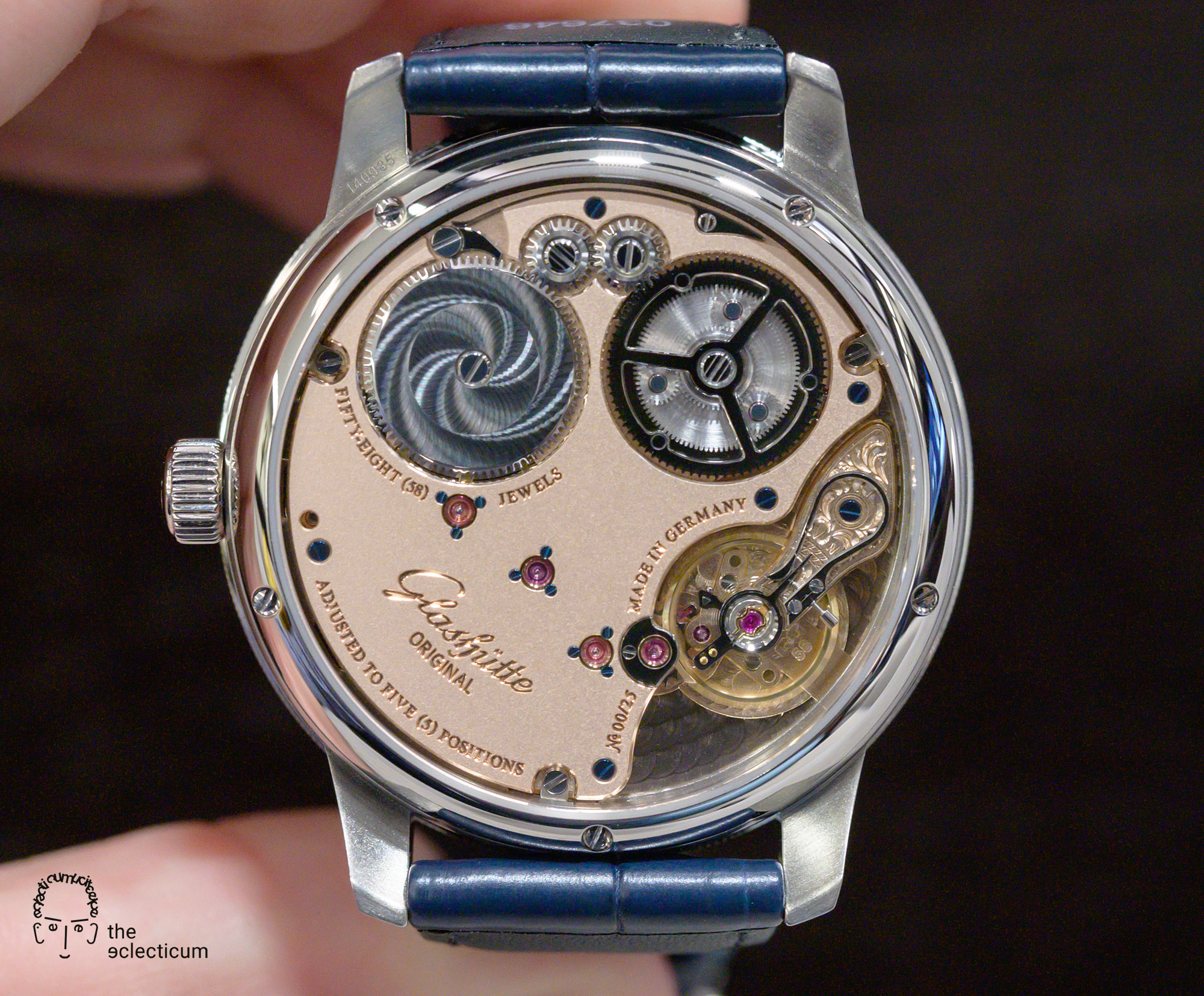 Glashütte Original Senator Limited Edition 2020 cal. 58-03 movement caseback