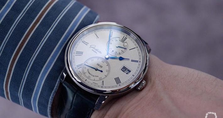Glashütte Original Senator Limited Edition 2020 wristshot