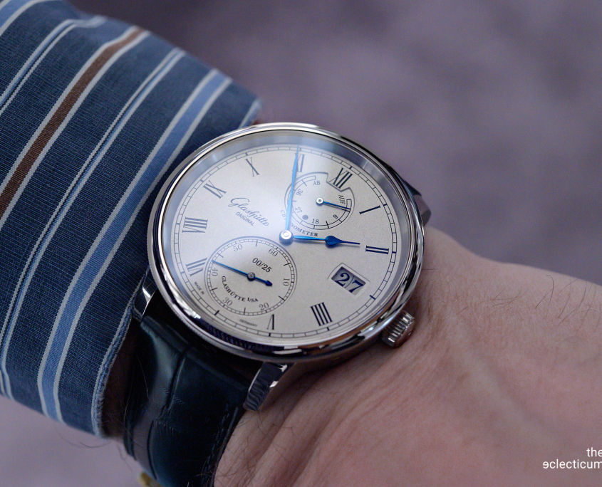 Glashütte Original Senator Limited Edition 2020 wristshot
