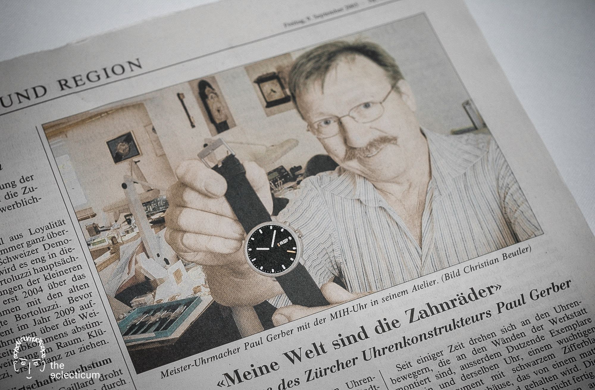 MIH Watch Musee International d'Horologerie Ludwig Oechslin Paul Gerber Christian Gafner Beat Weinmann Annual Calendar Monopusher Chronograph Simplicity