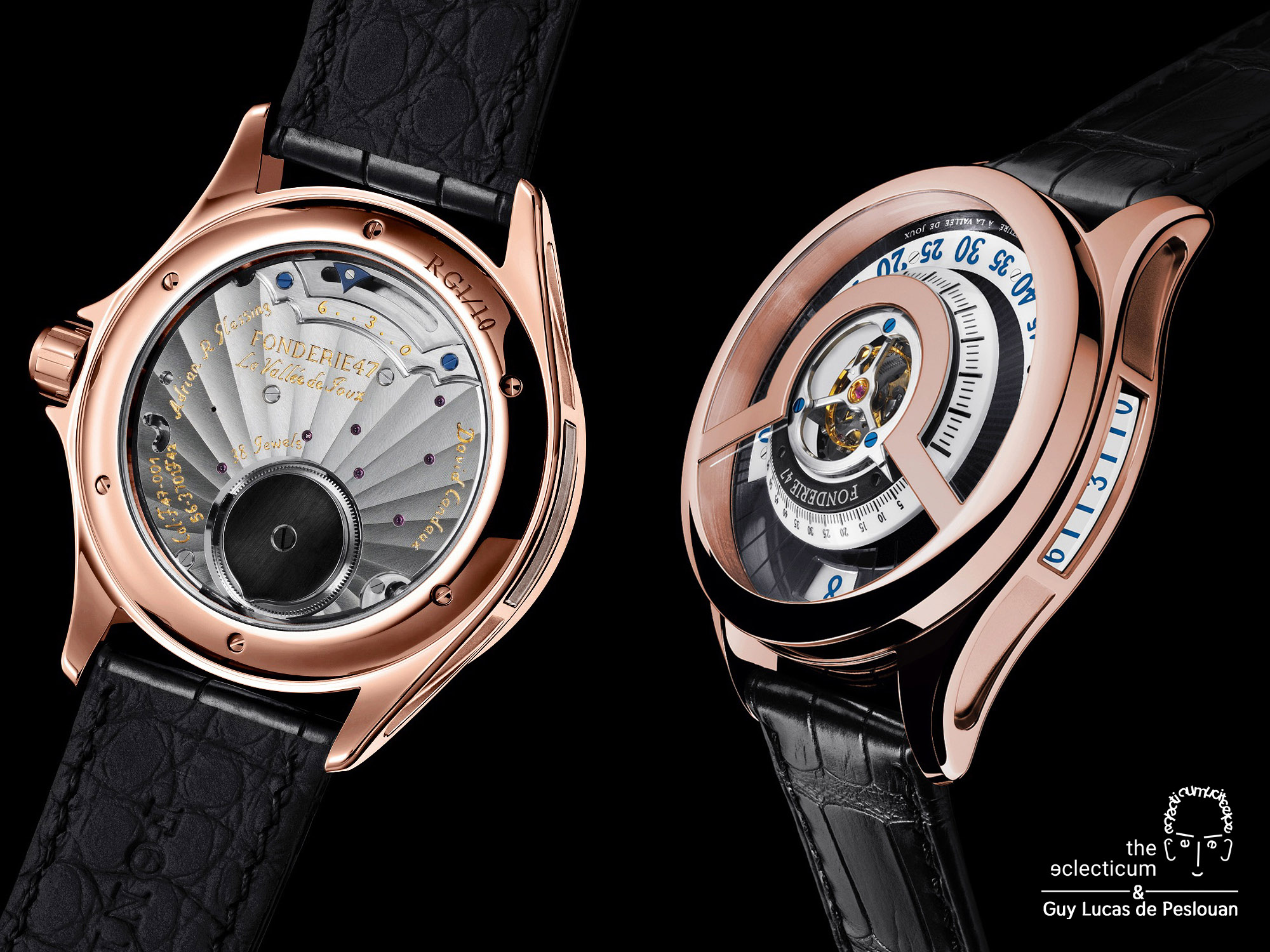 Fonderie 47 Inversion Principle Tourbillon David Candaux central flying tourbillon