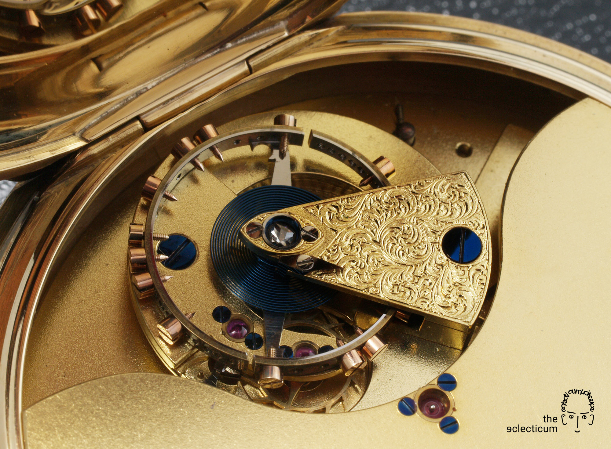 Frodsham Pocket Watch No. 08982 Bahne Bonniksen Carrousel
