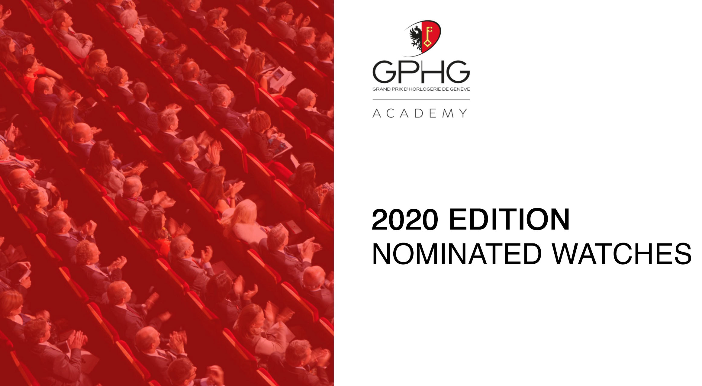 Grand Prix d'Horlogerie de Genève GPHG Academy Nominated Watches 2020
