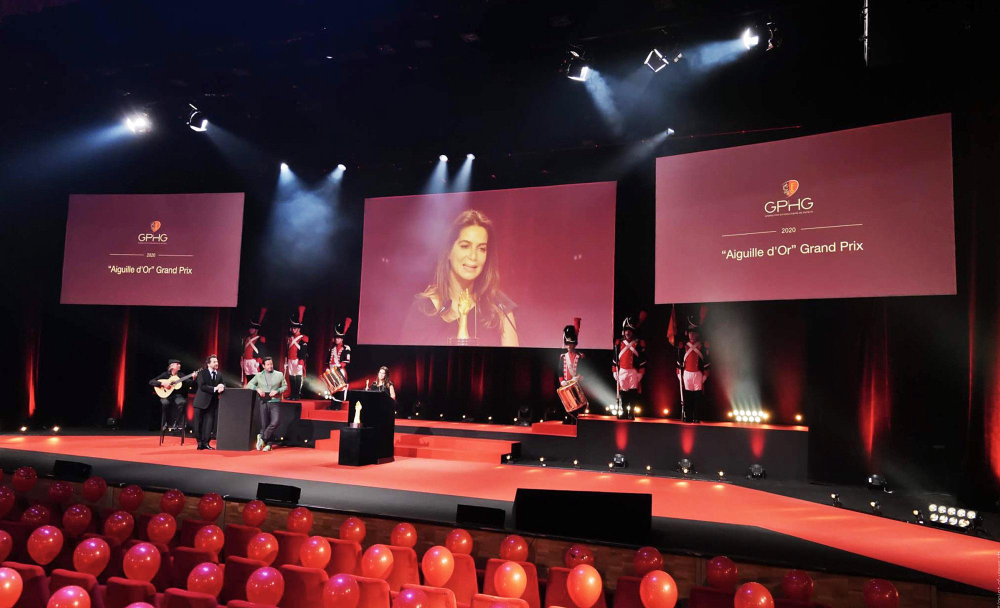 Grand Prix d'Horlogerie de Genève GPHG Academy Award Ceremony 2020 Chabi Nouri Piaget Aiguille d'Or Prize