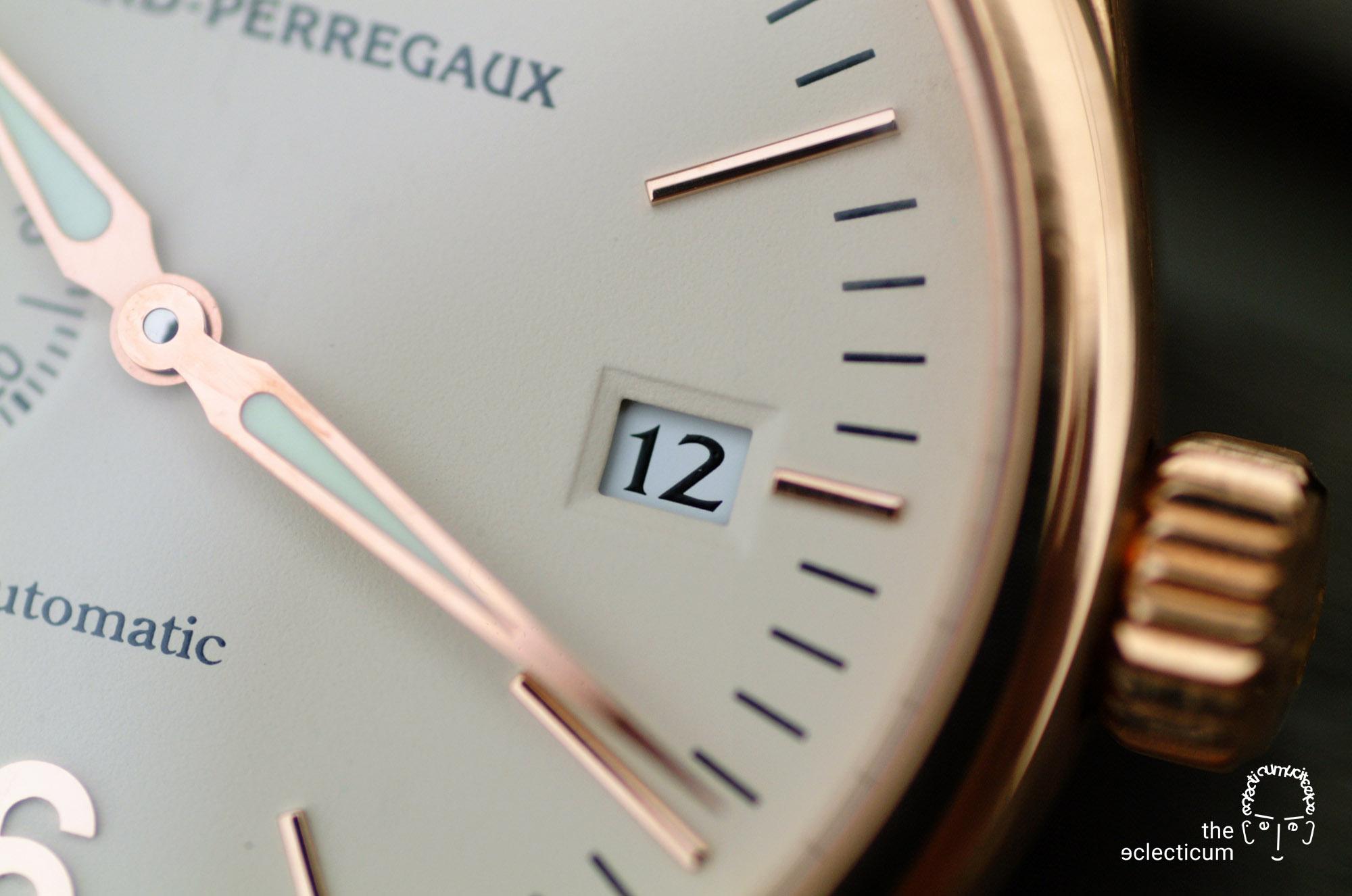 Girard-Perregaux Classique Elegance Ref. 49520 manufacture rose gold in-house date