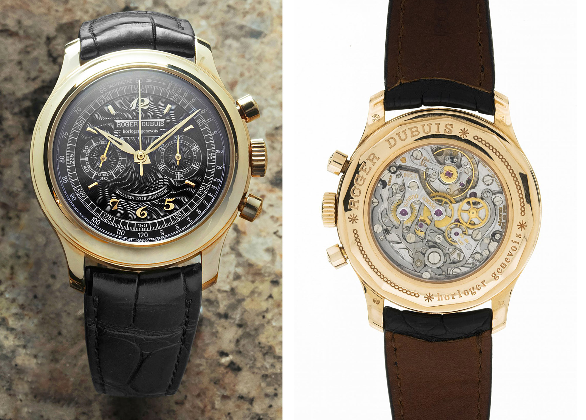 Roger Dubius Hommage 40 Chronograph