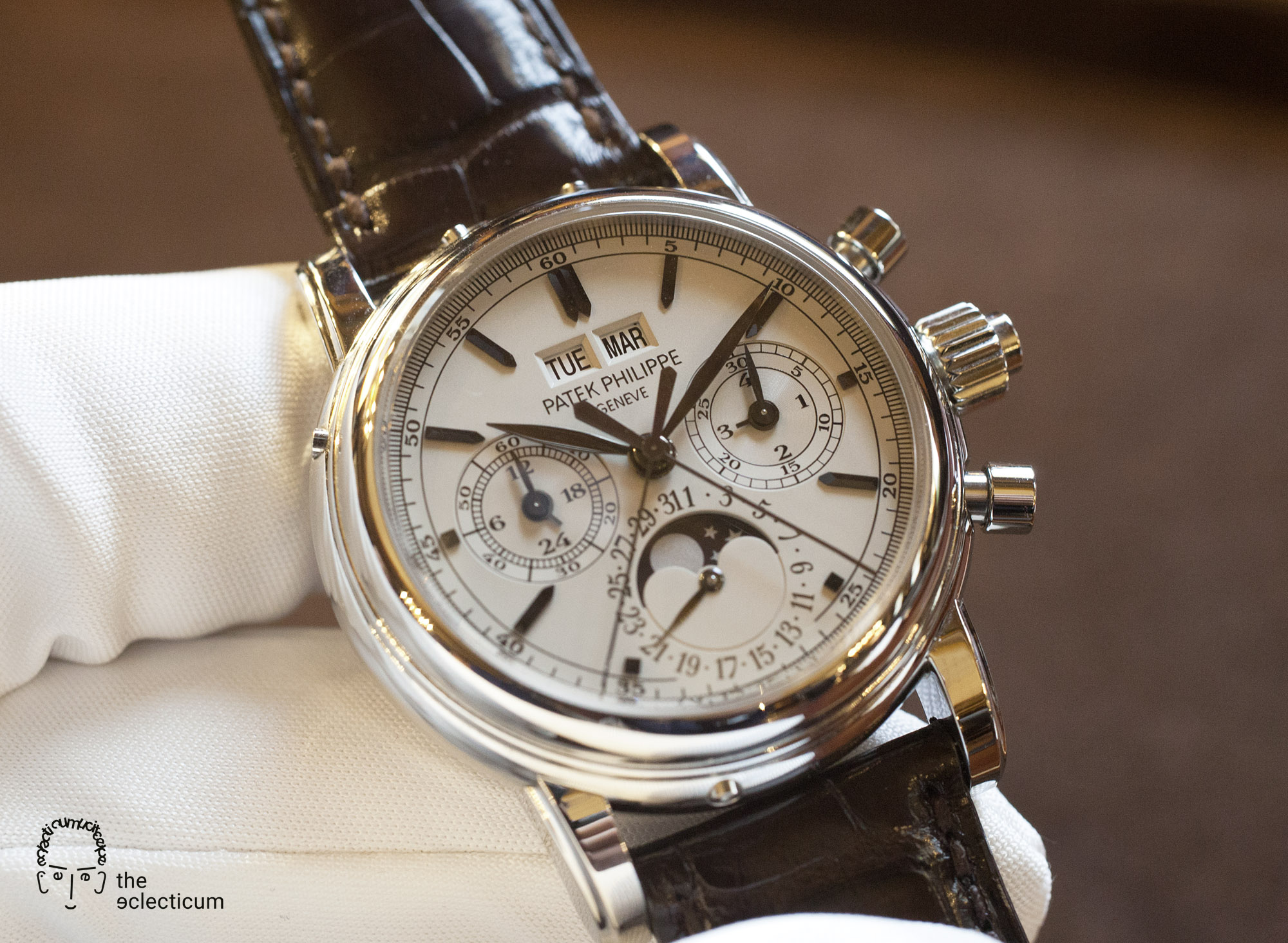 Patek Philippe Ref. 5004A Perpetual Calendar Rattrapante Split-Second Chronograph stainless steel CHR 27-70