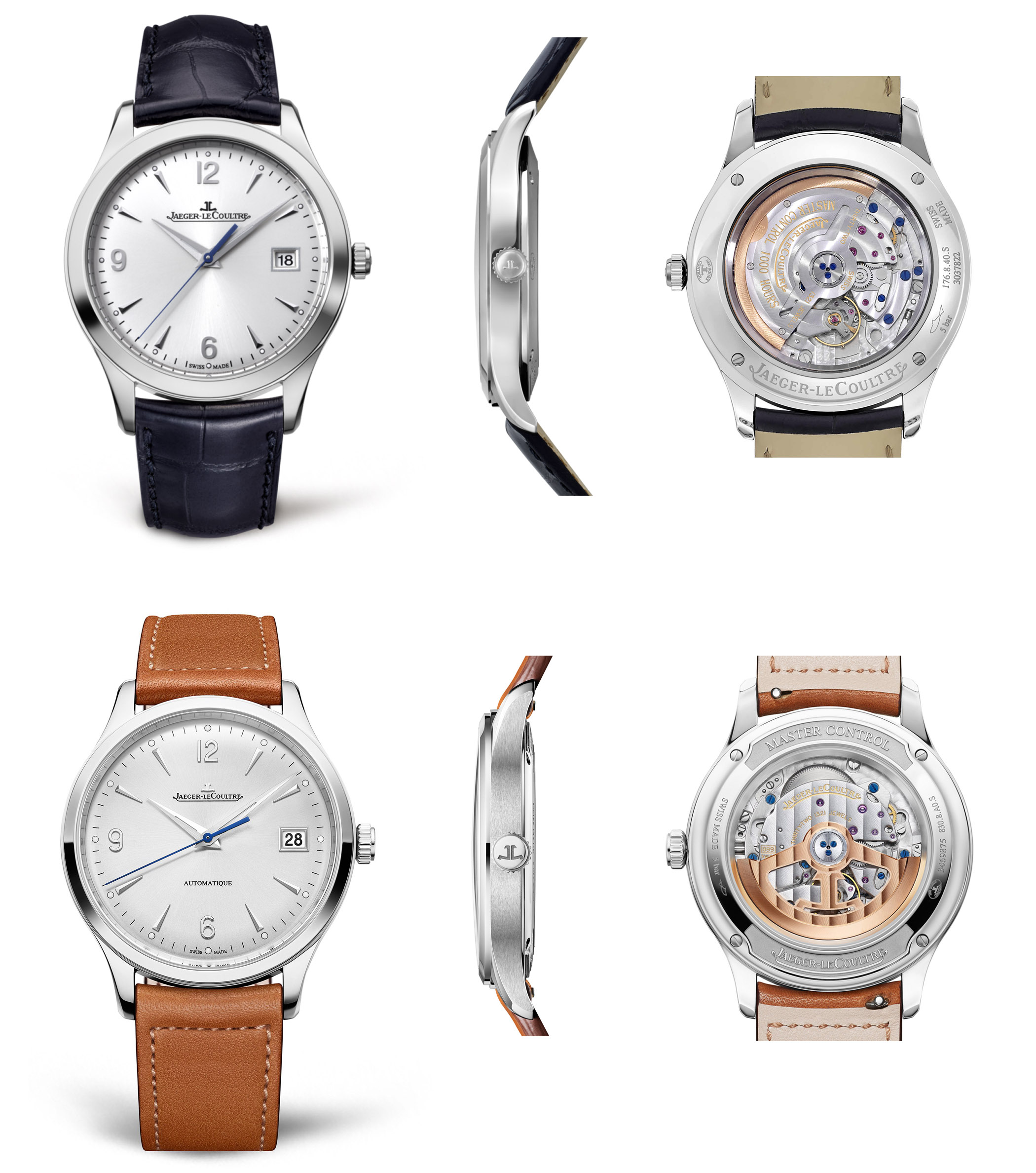 Jaeger-LeCoultre Master Control Date 2020 2012