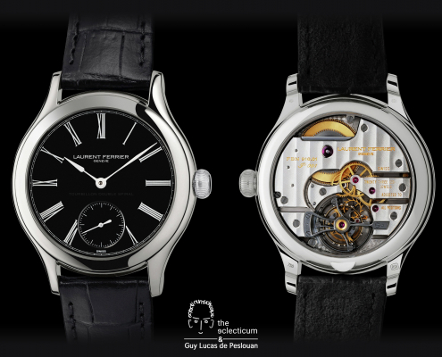 Laurent Ferrier – Galet Classic Tourbillon Double Spiral Guy Lucas de Peslouan artsight