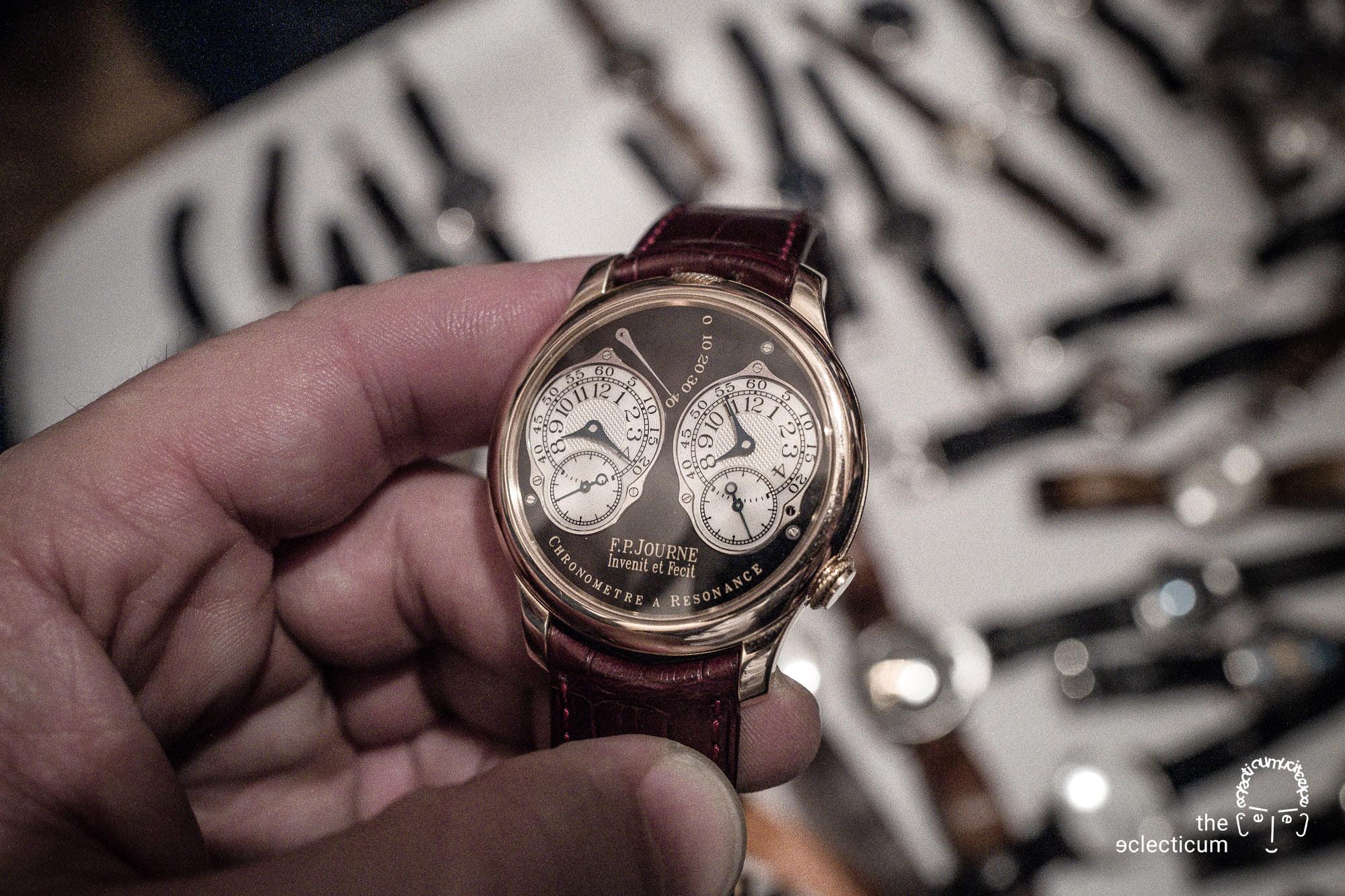 Francois-Paul Journe Chronomètre à Résonance Series 2 rose gold ruthenium dial limited edition