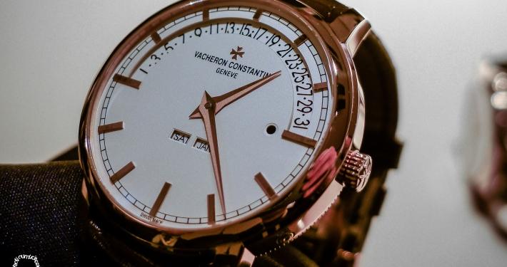 Patrimony - retrograde perpetual calendar - Boutique Edition Geneva - LE 25