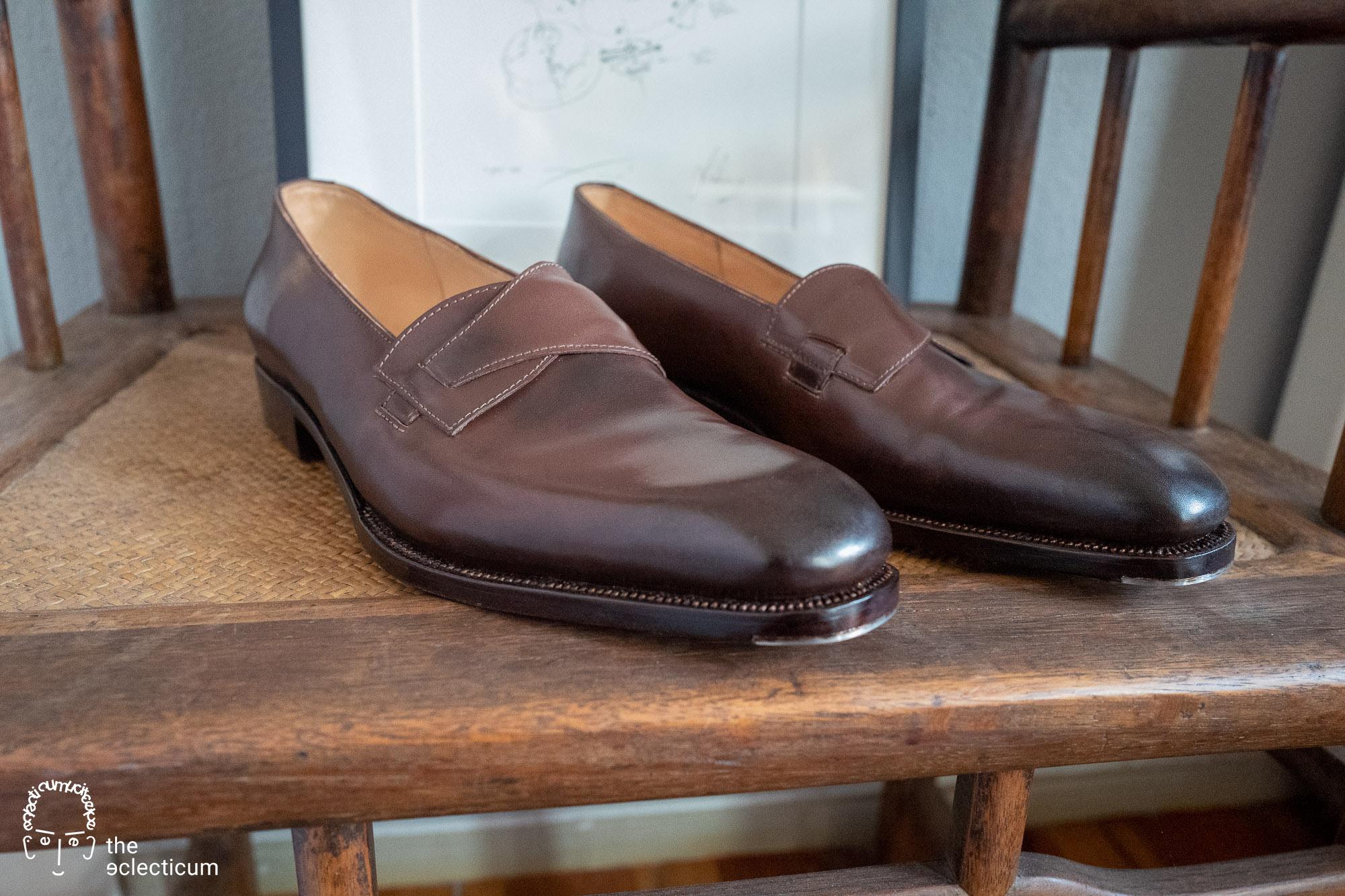 plain-toe ´Butterfly` loafer