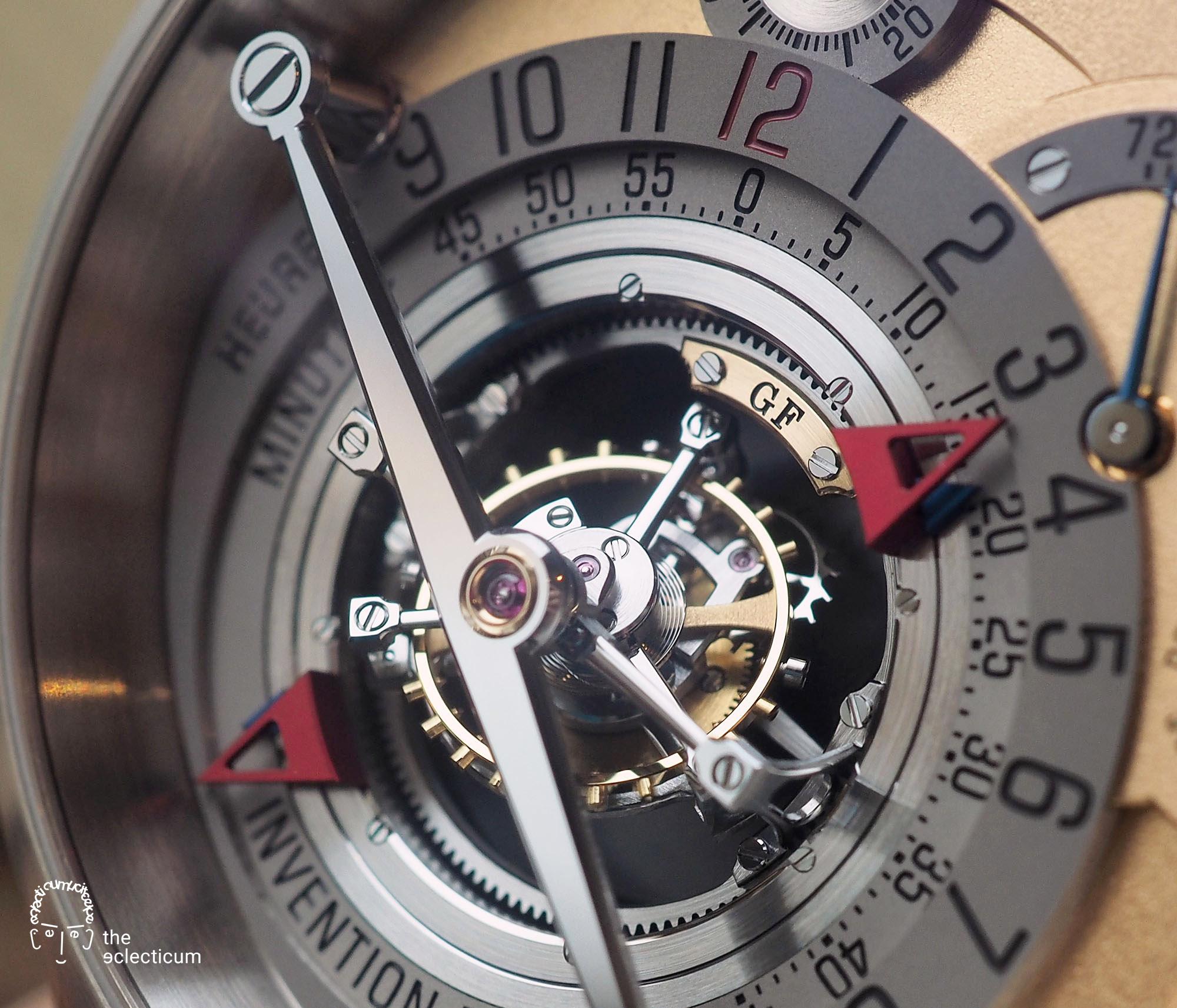 Greubel Forsey Invention Piece 1 Double Tourbillon 30° Detail