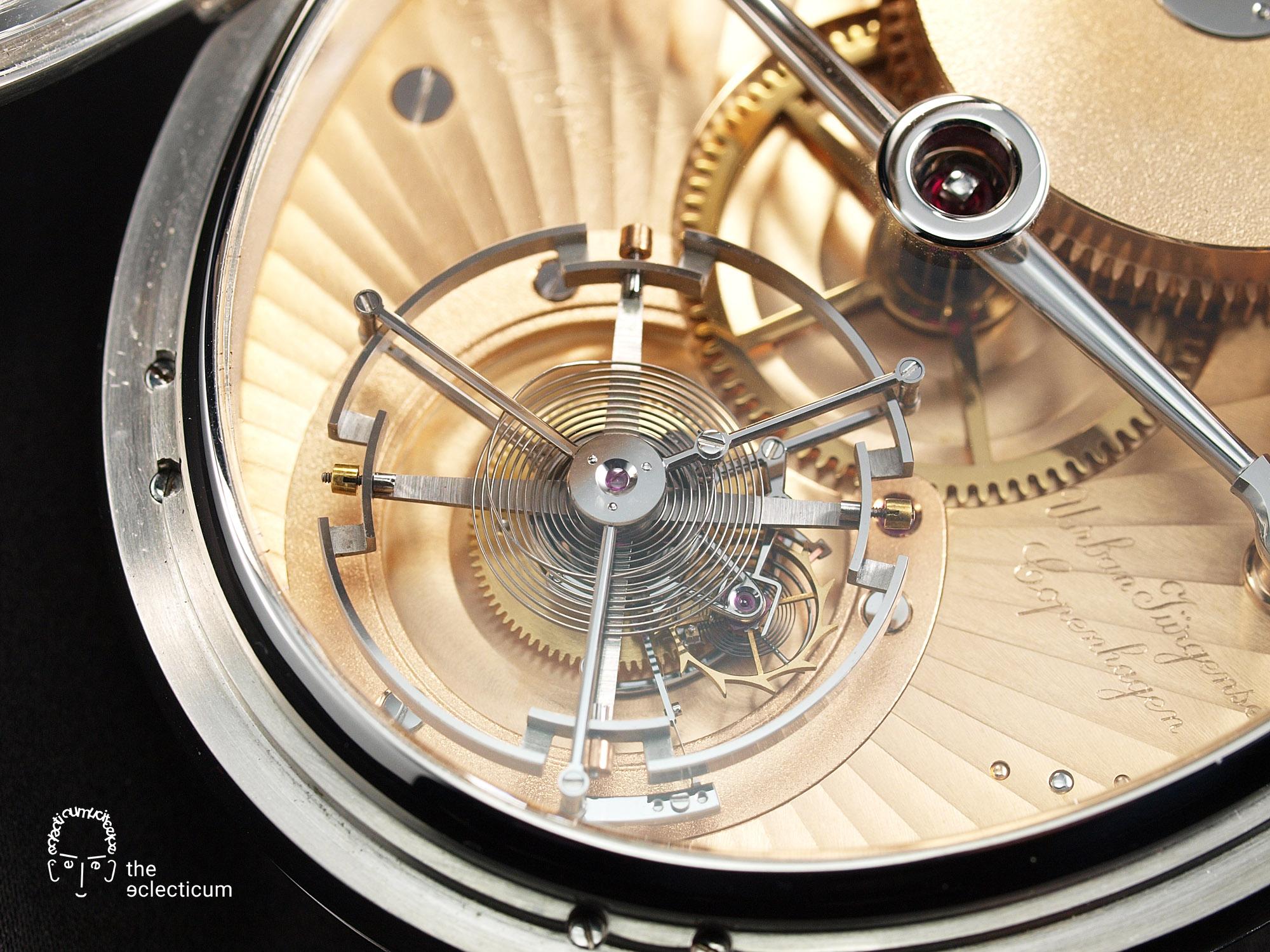 Derek Pratt Urban Jürgensen & Sönner: Oval Tourbillon Pocket Watch