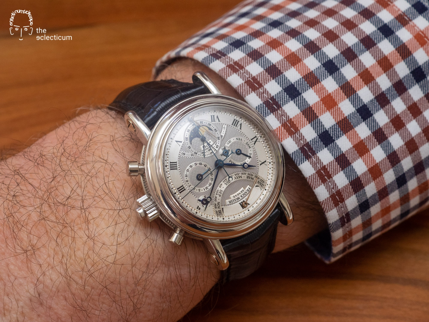 Paul Gerber master watchmaker AHCI manufacture Superbia Humanitatis grand complication minute repeater Sonnerie flyback split seconds rattrapante chronograph flying tourbillon perpetual calendar thermometer