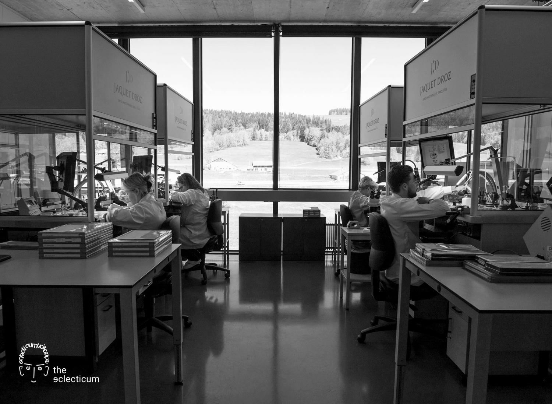 watchmaking atelier jacquet droz
