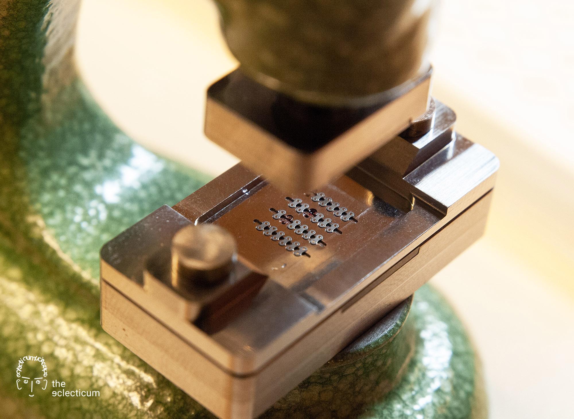 Ferdinand Berthoud Chronometry FB 1R 1L 1 chronometer tourbillon assembly watchmaking movement chaine chain fusee