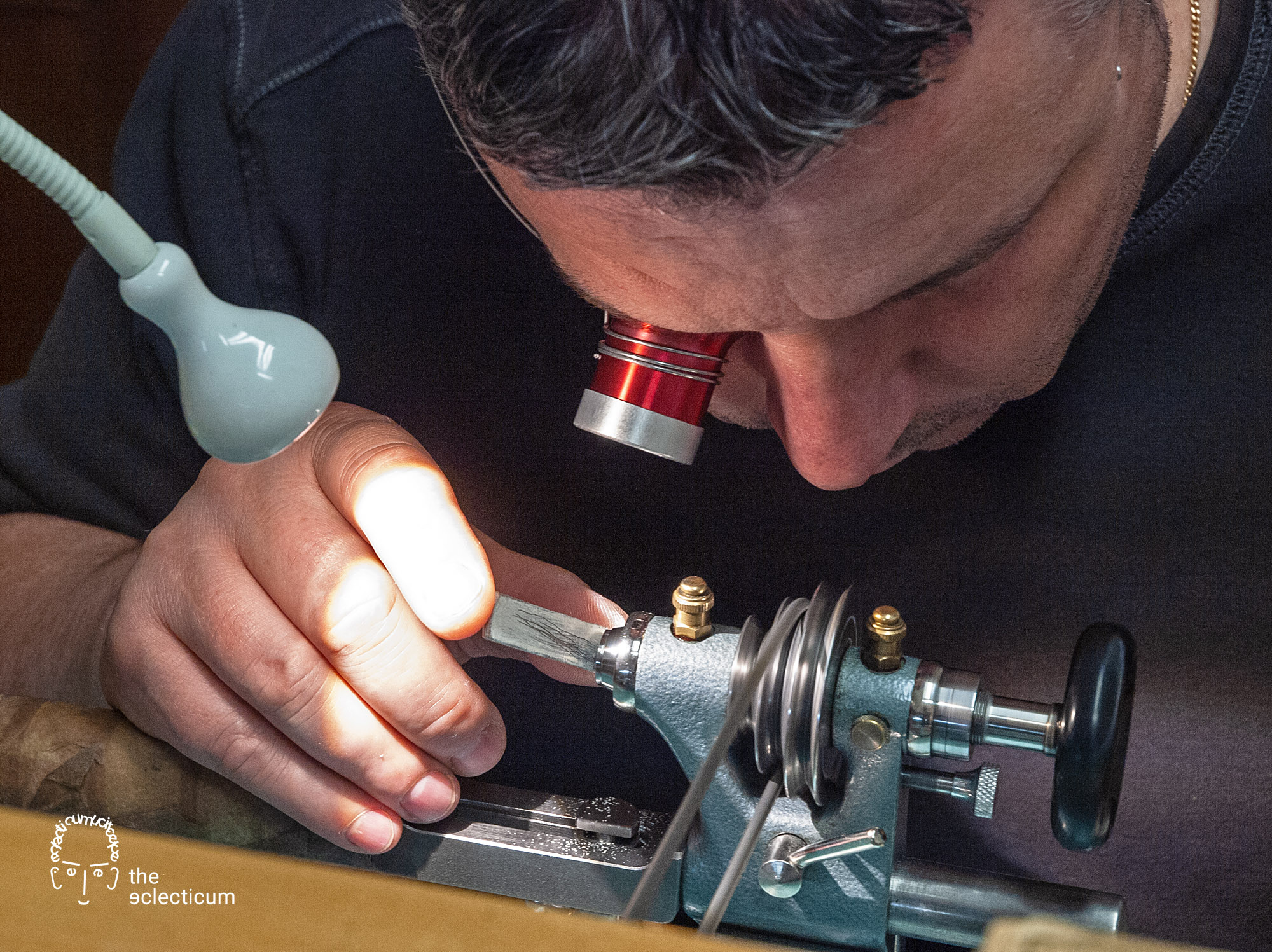 Kari Voutilainen watchmaking atelier handmade