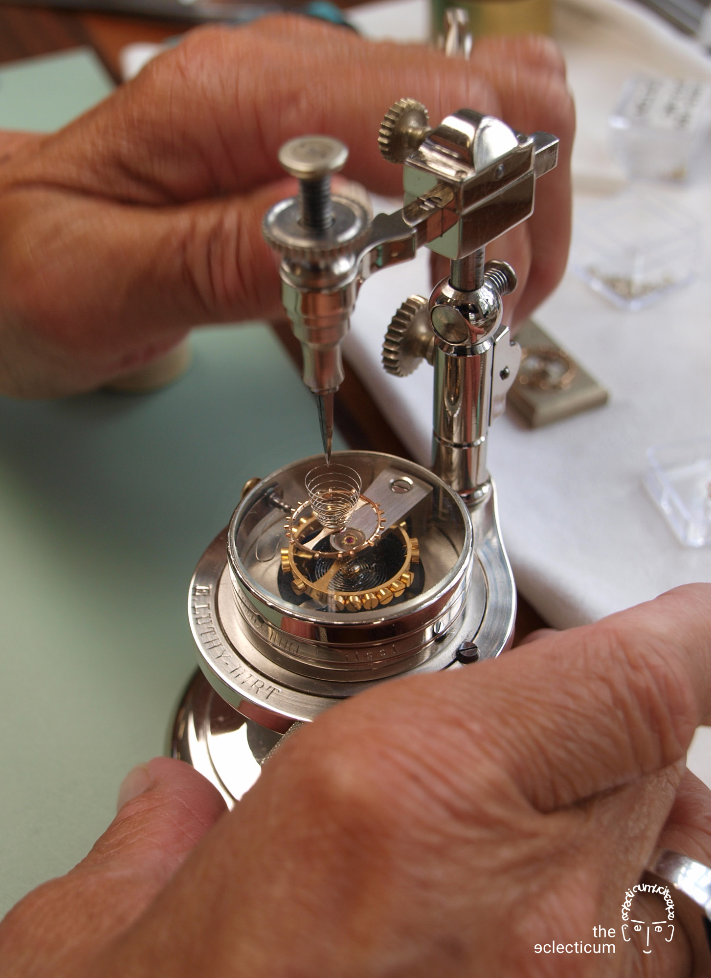 minerva Villeret montblanc hairspring manufacture