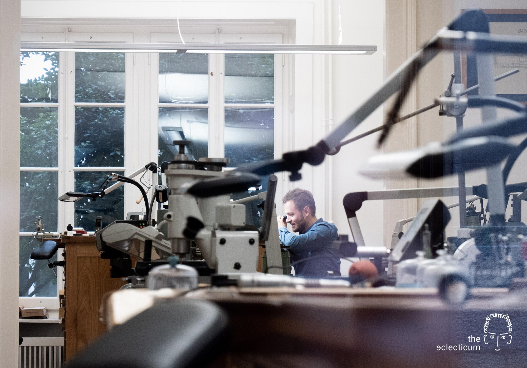 Rexhep Rexhepi Akrivia atelier watchmaker