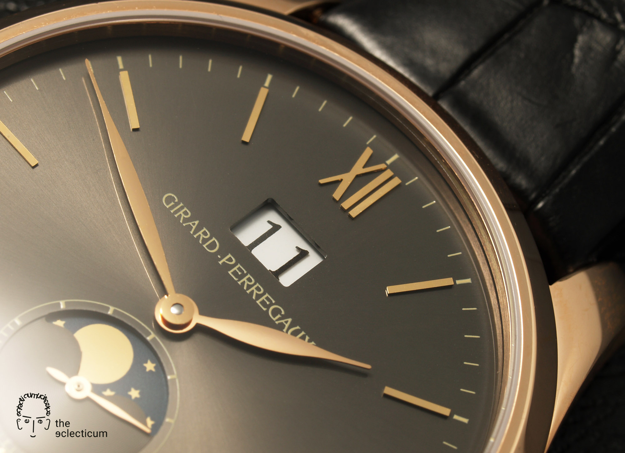 Girard-Perregaux Classique Elegance Ref. 49530 big date moonphase manufacture rose gold in-house
