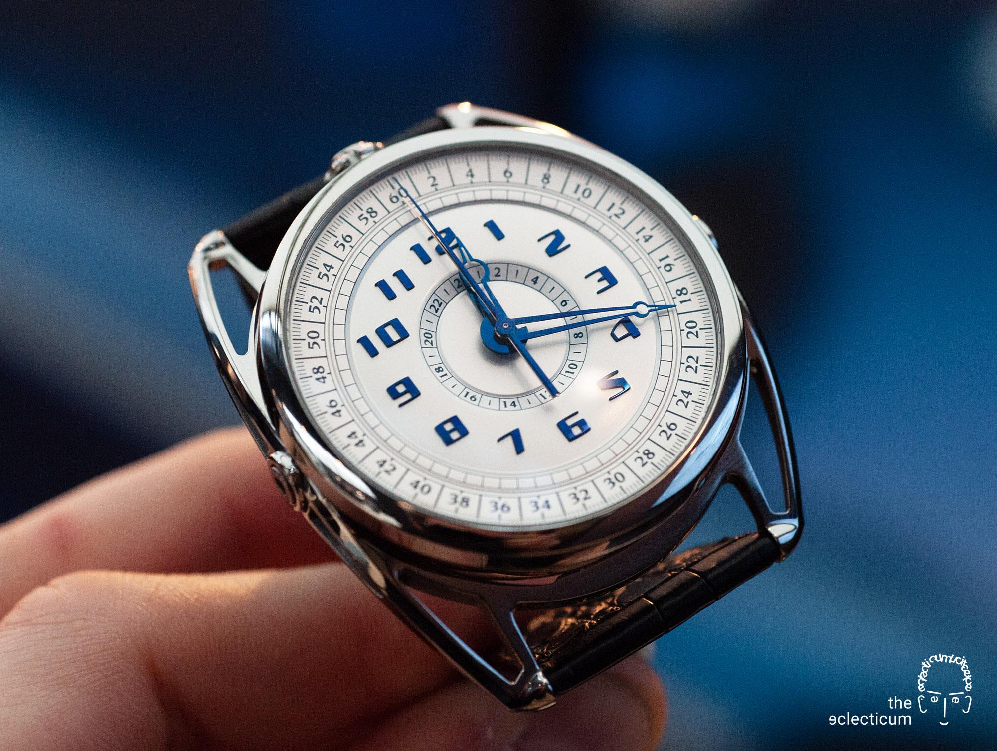 De Bethune DB28 MaxiChrono chronograph central stack manufacture