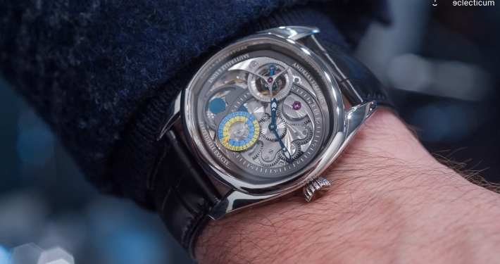Andreas Strehler Lune Exacte Wristshot