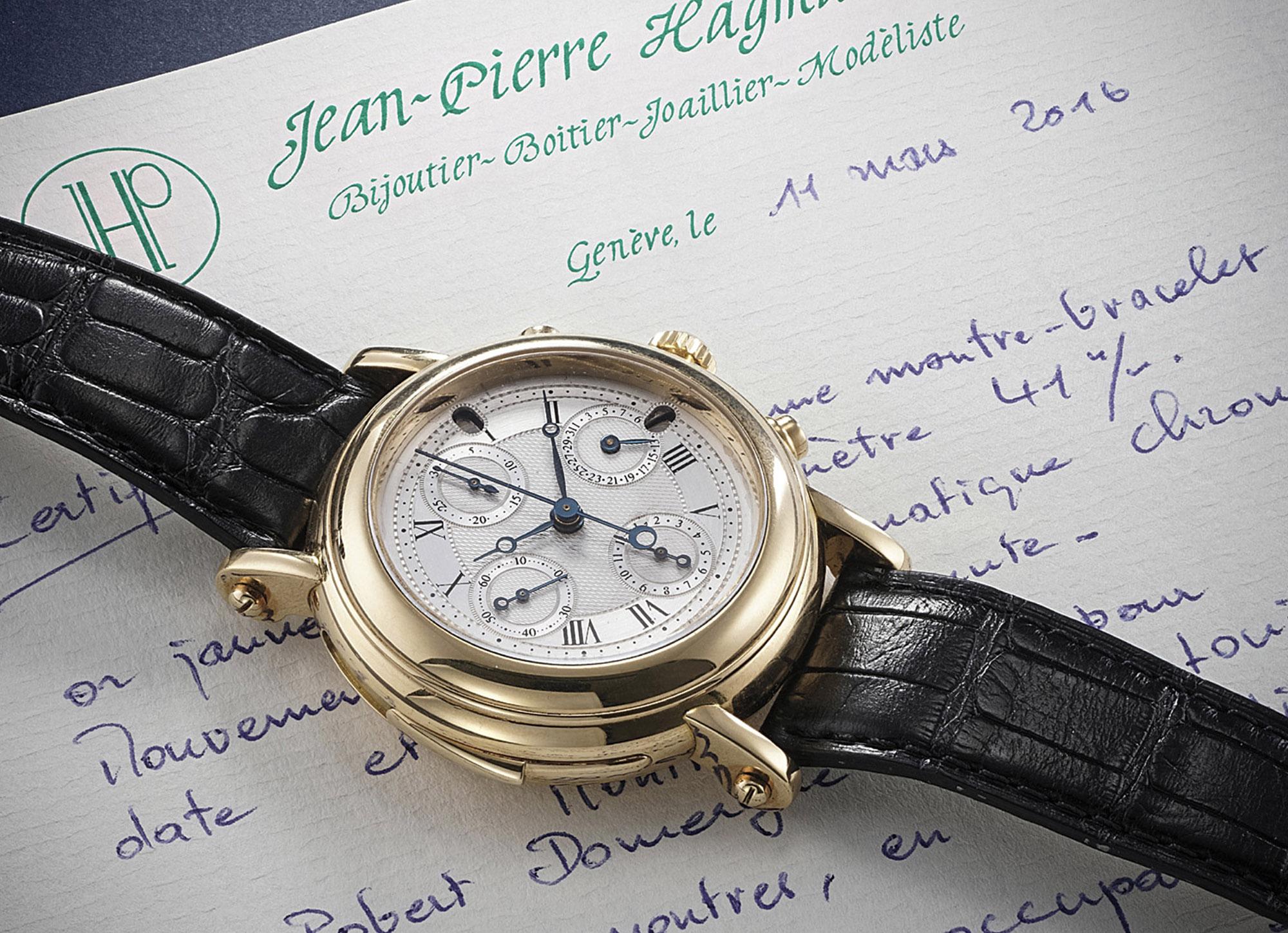 Jean-Pierre Hagman François-Paul Journe Minute Repeater Chronograph