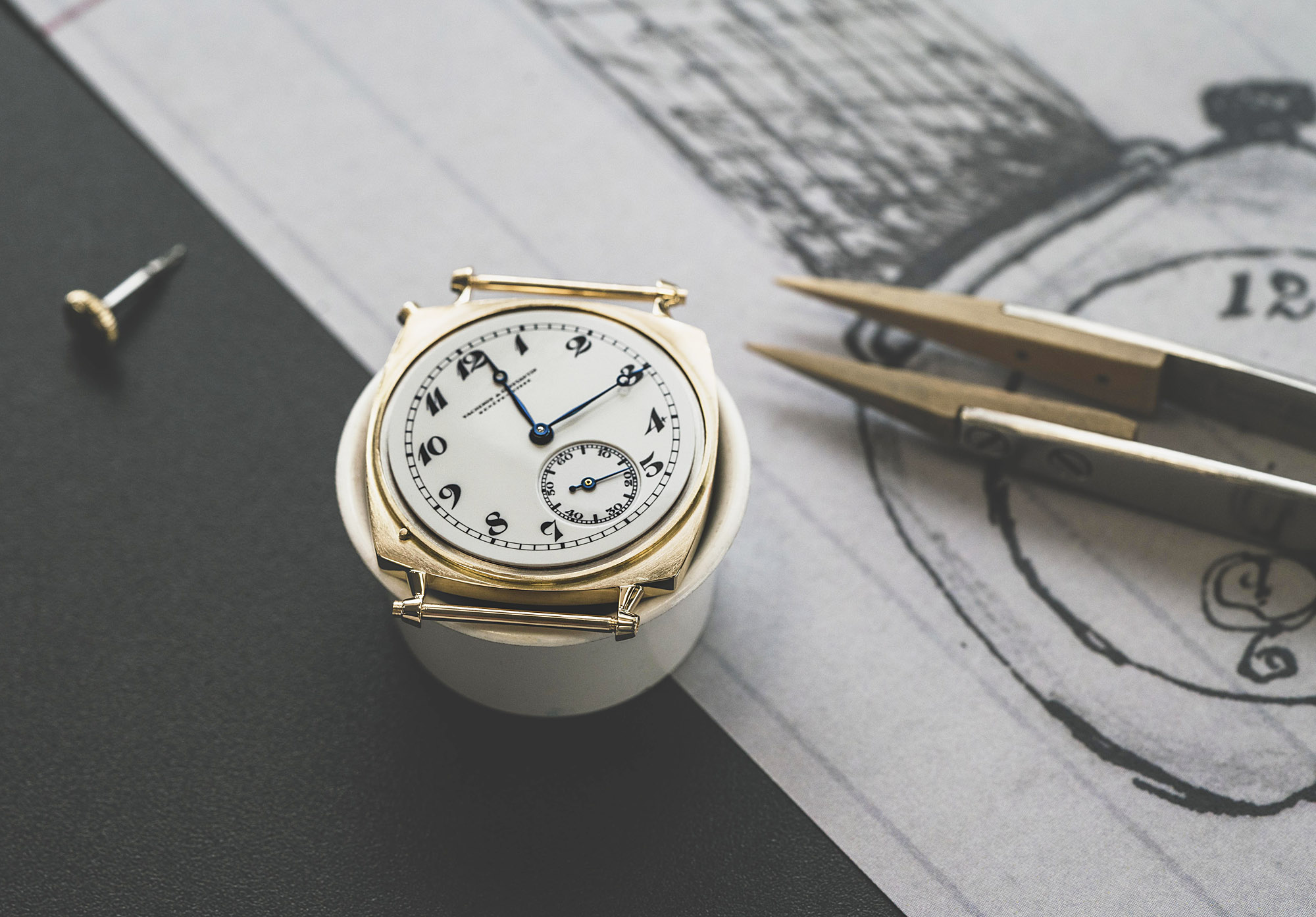 Vacheron Constantin American 1921 Piece Unique Hand Crafted 3N Yellow Gold Case Goldsmith