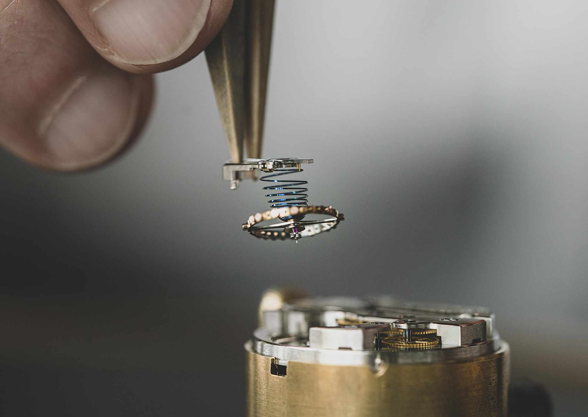 Vacheron Constantin American 1921 Piece Unique Movement Balance Wheel Hairspring Old Stock Assembly