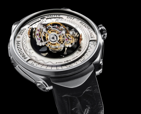 Vianney Halter Deep Space Tourbillon Resonance triple axis