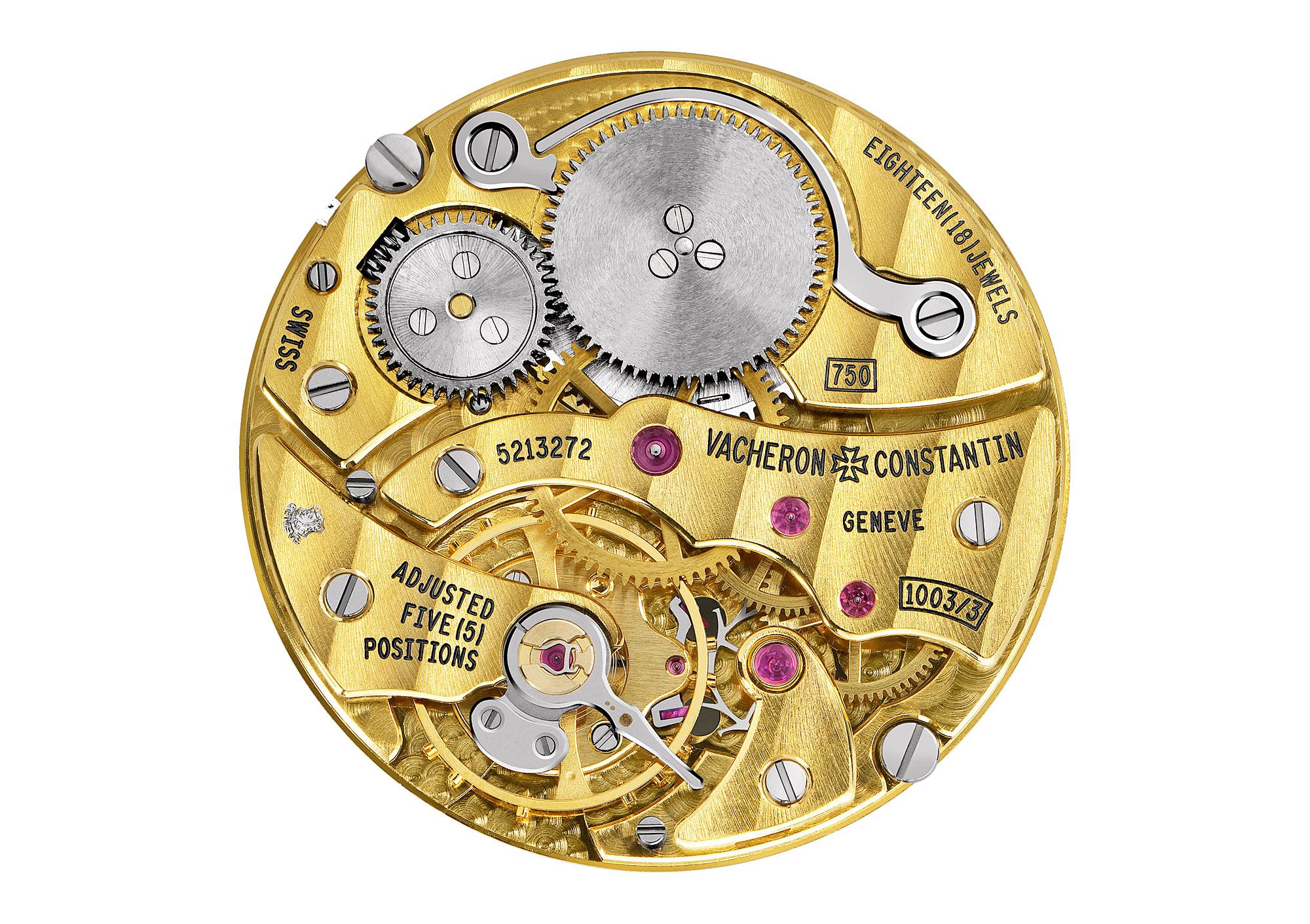 Vacheron Constantin caliber 1003 Geneva seal poincon de geneve handwound gold
