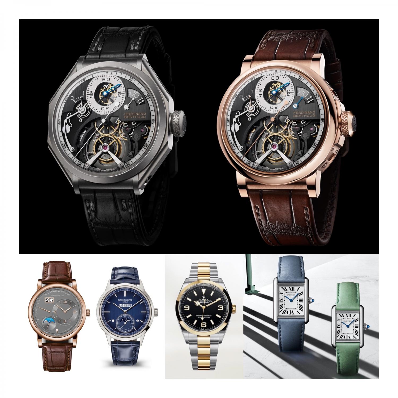 Watches & Wonders 2021 - Credible Concepts Ferdinand Berthoud Cartier Tank Mus Rolex Explorer Bicolur A. Langer & Söhne Lange 1 Perpetual Calendar Patek Philippe Ref. 5236P InLine