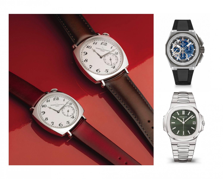 Watches & Wonders 2021 - Design Trends Vacheron Constantin Historiques American 1921 Zenith Defy Extreme Patek Philippe Aquanaut Green 5711