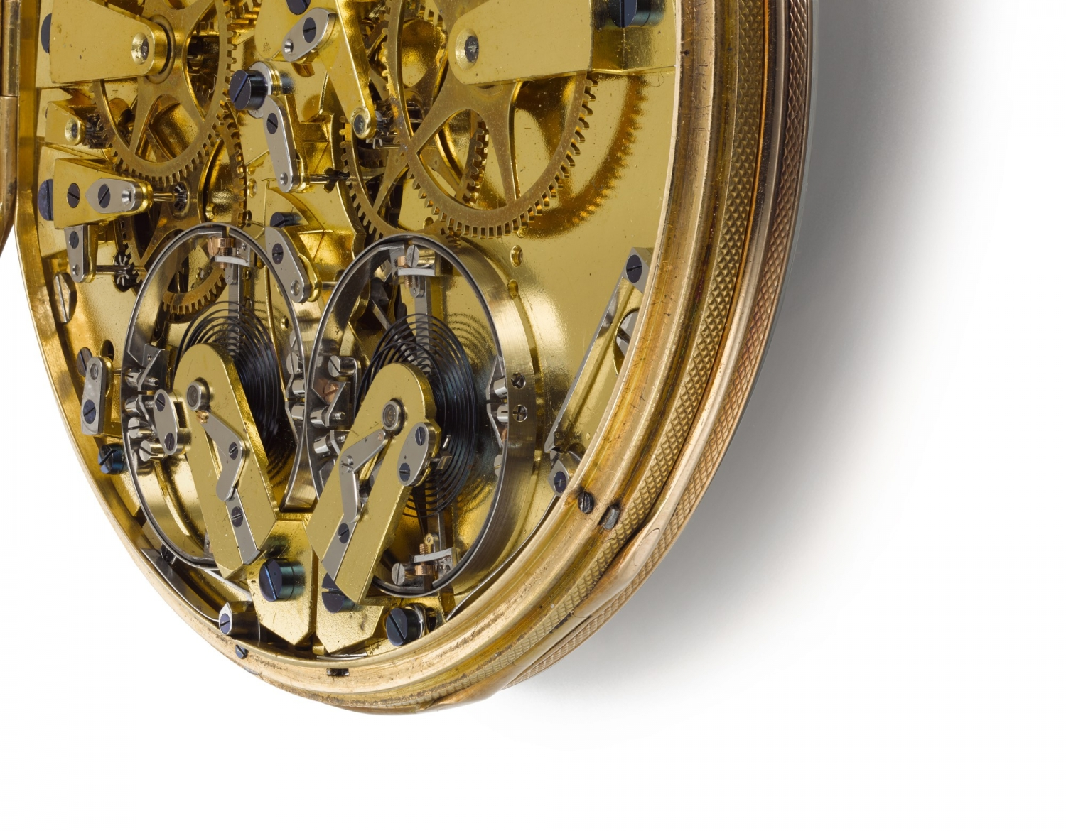 Breguet pocket watch No. 2788 dated 1812 two resonating escapement